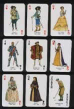 Kings & Queens of England collectables Playing cards